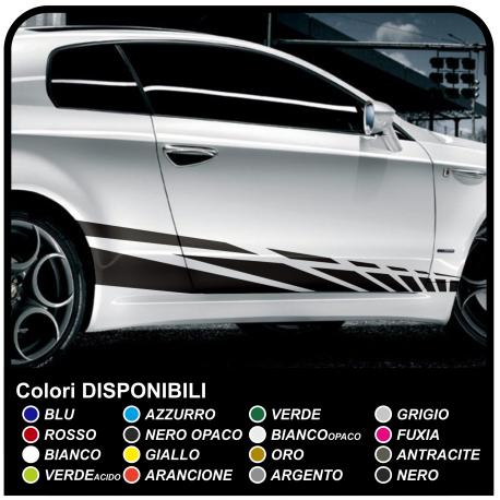 adhesive strips 195cm Adhesive side Racing Decor Sticker car Tuning race