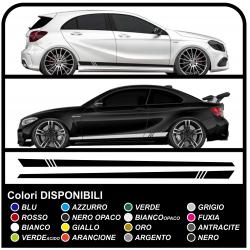 Auto-adhésif de la bande latérale racing SPORT Tuning Racing stripes autocollants de voiture