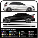 Self adhesive sideband racing SPORT Tuning Racing stripes decals car
