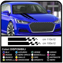 Autocollants Capot, la voiture universel Autocollant de Bande de décoration de voiture tuning Autocollant, Racing Stripe