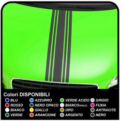 Adesivi per cofano auto universali per tutte le auto Adesivi Rally Strisce cofano auto