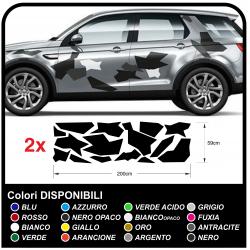 Adhésif de CAMOUFLAGE pour les suv hors route et la voiture de graphiques décoratifs autocollants de voiture camouflage