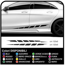 Adesivi strisce laterali Auto fiancate auto adesivi laterali alti o bassi per auto tuning