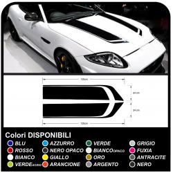 Aufkleber motorhaube universal für auto-dekoration racing universal für auto