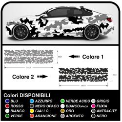 Pegatinas de camuflaje de coches suv y todoterreno gráfico kit para el coche EJÉRCITO de los estados unidos de camuflaje