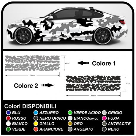 Aufkleber camouflage für auto, suv-und offroad-kit grafik auto US ARMY camouflage Sticker decals tuning
