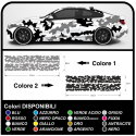 Stickers camouflage car suv and off-road graphic kit for car US ARMY camouflage Sticker decals tuning