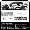 Autocollants de camouflage de la voiture de suv et de off-road graphique kit pour voiture US ARMY camouflage Autocollant