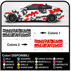 Adhesive side car camouflage Camouflage kit race CAR racing US ARMY car military Sticker Tuning
