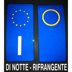 plaque d'immatriculation BMW, AUDI, ALFA ROMEO MITO, GIULIETTA AUTOCOLLANTS