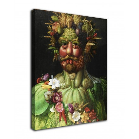 The framework Vertumnus Arcimboldo - Vertumnus - print on canvas with or without frame