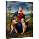 Modern painting Madonna of the Goldfinch Raphael, Madonna of the Goldfinch Painting print on canvas with or without frame