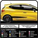 Set Aufkleber Streifen Auto-Abziehbilder aufkleber seitlichen klebestreifen Racing Aufkleber UNIVERSAL