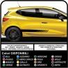 Set Adesivi Strisce Auto Decalcomanie adesivi laterali strisce adesive Racing Adesivi UNIVERSALI