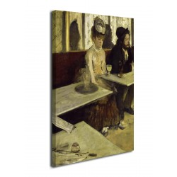 Painting, The Absinthe-Edgar Degas - Absinthe - print on canvas with or without frame