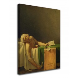 Bild Tod des Marat von Jacques-Louis David - Death of Marat - druck auf leinwand, leinwand mit oder ohne rahmen