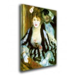 El marco de La Etapa de Pierre-Auguste Renoir - El Escenario - impresión en lienzo con o sin marco