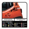 Stickers Stickers for Jeep Renegade mountain bike, door, car door decals