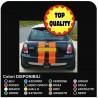 autocollants Coffre de la mini cooper MINI COOPER kit de bandes adhésives UNIVERSELLE CAPOT ARRIÈRE R52 Cooper S avec TOUS les