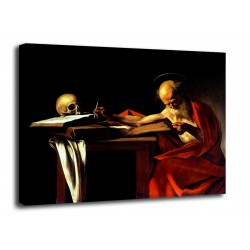 Quadro San Girolamo - Caravaggio - stampa su tela canvas con o senza telaio