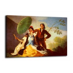 Framework The parasol - Francisco Goya - print on canvas with or without frame
