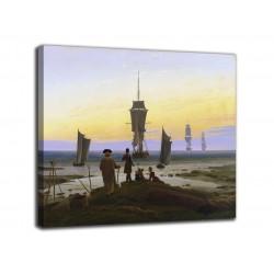 Quadro Le tre età dell'uomo - Caspar David Friedrich - stampa su tela canvas con o senza telaio
