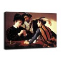 The framework of The bari - Caravaggio - print on canvas with or without frame