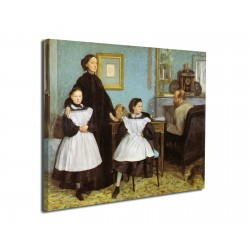 Painting The Bellelli family - Edgar Degas - print on canvas with or without frame