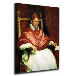 Quadro Papa Innocenzo X - Diego Velázquez - stampa su tela canvas con o senza telaio