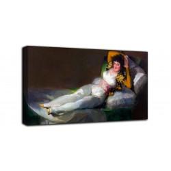 Quadro Maya vestida - Francisco Goya - stampa su tela canvas con o senza telaio