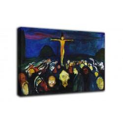 Quadro Il monte Calvario - Edvard Munch - stampa su tela canvas con o senza telaio