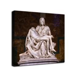 Quadro La pietà vaticana - Michelangelo - stampa su tela canvas con o senza telaio