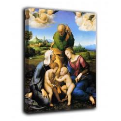 Quadro Sacra Famiglia - Raffaello - stampa su tela canvas con o senza telaio