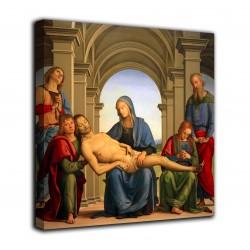 Le cadre de la Piété - le Pérugin - impression sur toile avec ou sans cadre