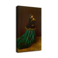 Quadro Camille - Claude Monet - stampa su tela canvas con o senza telaio