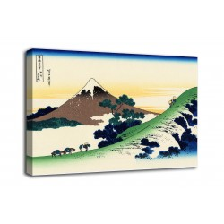 Framework The step of Inume to Kōshū - Katsushika Hokusai - print on canvas with or without frame