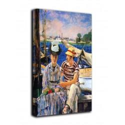 Rahmen Argenteuil - Édouard Manet - druck auf leinwand, leinwand mit oder ohne rahmen