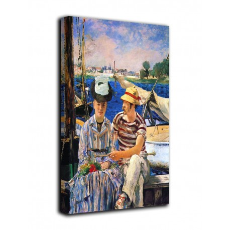 Picture Argenteuil - Edouard Manet - print on canvas with or without frame