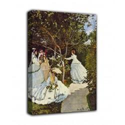 Quadro Donne in giardino - Claude Monet - stampa su tela canvas con o senza telaio