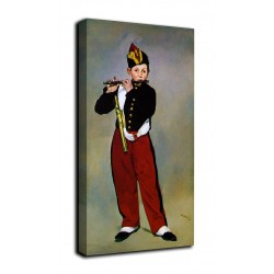 Quadro Il pifferaio- Édouard Manet - stampa su tela canvas con o senza telaio