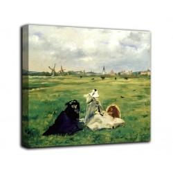 Rahmen Die schwalben - Édouard Manet - druck auf leinwand, leinwand mit oder ohne rahmen