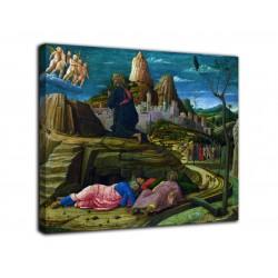 Rahmen Gebet im garten - Andrea Mantegna - druck auf leinwand, leinwand mit oder ohne rahmen