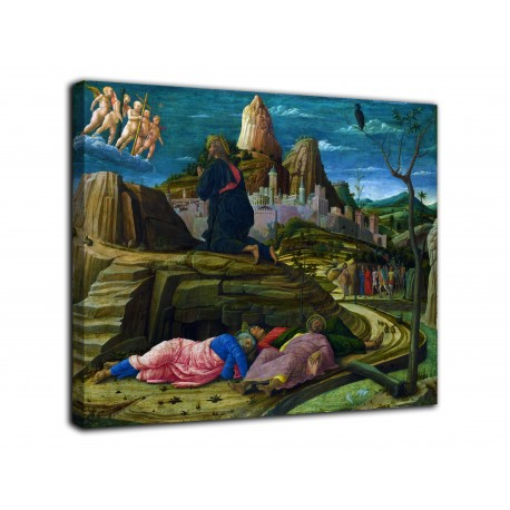 Painting the agony in the garden - Andrea Mantegna - print on canvas with or without frame