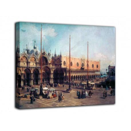 Quadro San Marco - Canaletto - stampa su tela canvas con o senza telaio