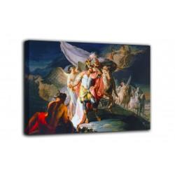 Quadro Annibale vincitore che rimira per la prima volta dalle Alpi l'Italia - Goya - stampa su tela canvas con o senza telaio