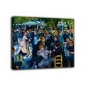 Quadro Ballo a Le Moulin de la Galette - Pierre-Auguste Renoir - stampa su tela canvas con o senza telaio