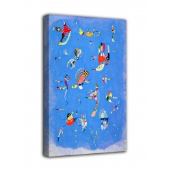 Quadro Cielo blu - Vassily Kandinsky - stampa su tela canvas con o senza telaio
