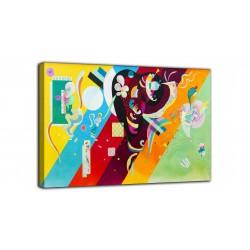 Quadro Composizione X - Vassily Kandinsky - stampa su tela canvas con o senza telaio