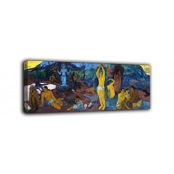Quadro Da dove veniamo, chi siamo, dove andiamo? - Paul Gauguin - stampa su tela canvas con o senza telaio