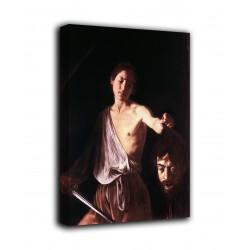 Quadro Davide con la testa di Golia - Caravaggio - stampa su tela canvas con o senza telaio